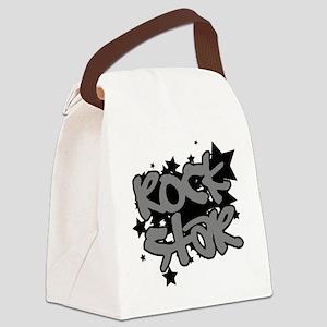 Rock Star Canvas Lunch Bag