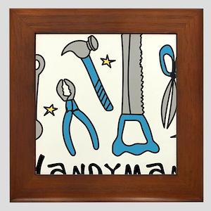Handyman Framed Tile