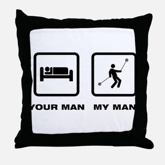Yo-Yo Throw Pillow