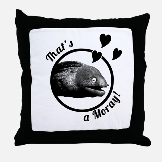 That's a Moray! Throw Pillow