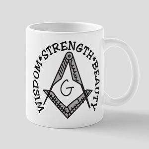 Wisdom Strength Beauty Mug