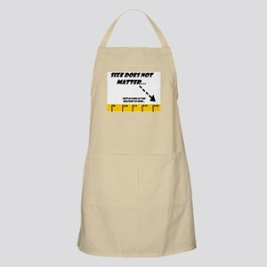 Size Does Not Matter 13+ BBQ Apron