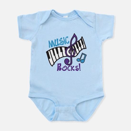 Music Rocks Infant Bodysuit