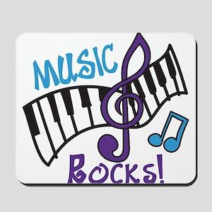 Music Rocks Mousepad