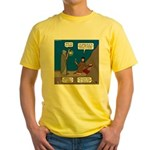 Led Zephaniah Yellow T-Shirt