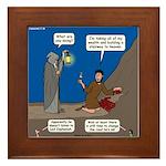 Led Zephaniah Framed Tile