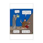 Led Zephaniah Mini Poster Print
