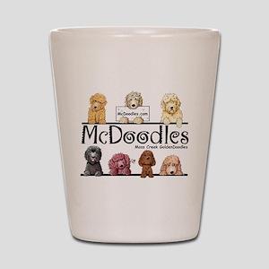 Goldendoodle McDoodles Shot Glass