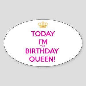 Birthday Queen Sticker
