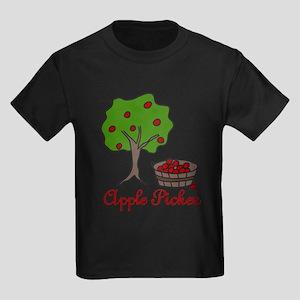 Apple Picker Kids Dark T-Shirt