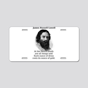 At The Devil's Booth - James Russell Lowell Al