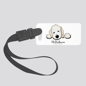 McDoodles Logo Small Luggage Tag