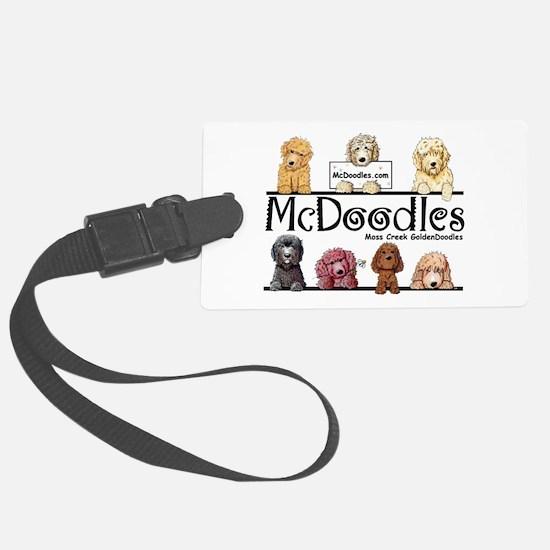 McDoodles Logo Luggage Tag