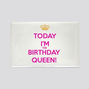 Birthday Queen Magnets