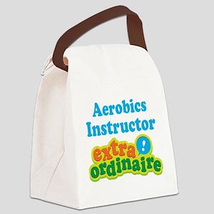 Aerobics Instructor Extraordinaire Canvas Lunch Ba