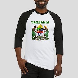 Tanzania Coat of arms Baseball Jersey