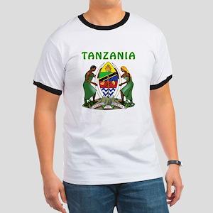Tanzania Coat of arms Ringer T