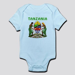 Tanzania Coat of arms Infant Bodysuit