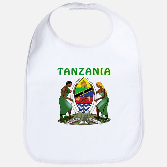 Tanzania Coat of arms Bib