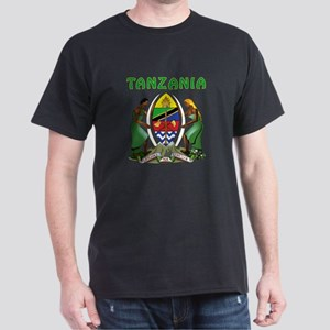 Tanzania Coat of arms Dark T-Shirt