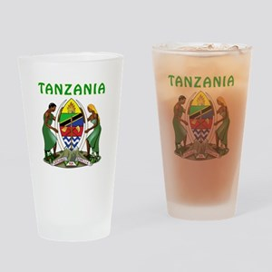 Tanzania Coat of arms Drinking Glass