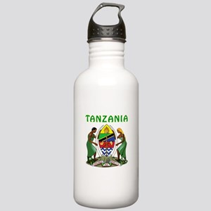 Tanzania Coat of arms Stainless Water Bottle 1.0L