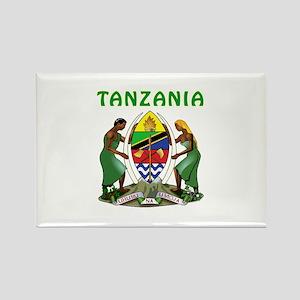 Tanzania Coat of arms Rectangle Magnet