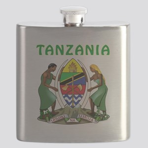 Tanzania Coat of arms Flask