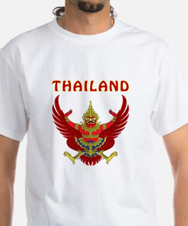 Thailand Coat of arms White T-Shirt