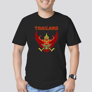Thailand Coat of arms Men's Fitted T-Shirt (dark)