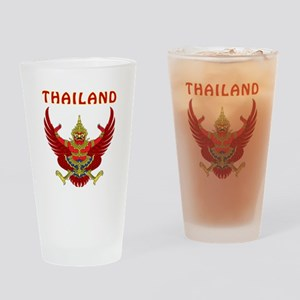 Thailand Coat of arms Drinking Glass