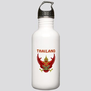 Thailand Coat of arms Stainless Water Bottle 1.0L