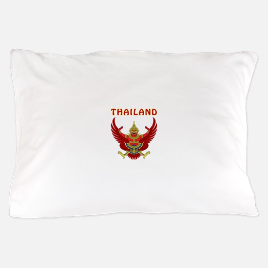 Thailand Coat of arms Pillow Case