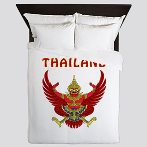 Thailand Coat of arms Queen Duvet