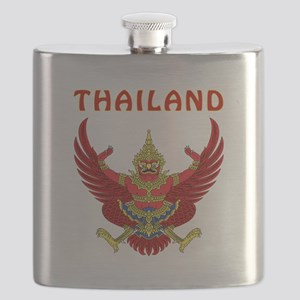 Thailand Coat of arms Flask