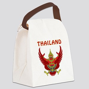 Thailand Coat of arms Canvas Lunch Bag