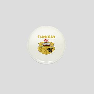 Tunisia Coat of arms Mini Button