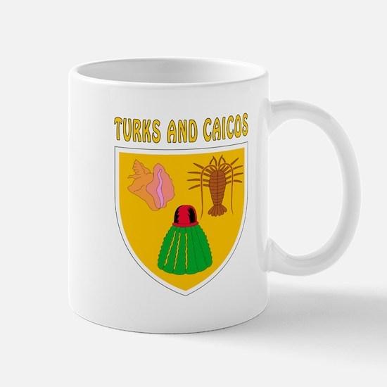 Turks and Caicos Coat of arms Mug