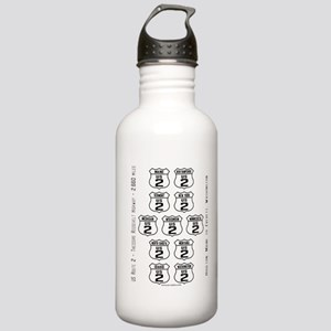 US Route 2 - All States - Stainless Water Bottle 1