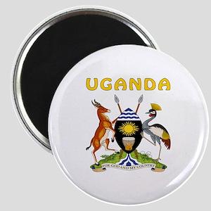 Uganda Coat of arms Magnet
