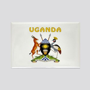 Uganda Coat of arms Rectangle Magnet