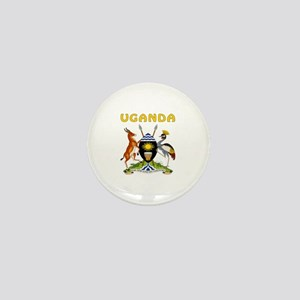 Uganda Coat of arms Mini Button