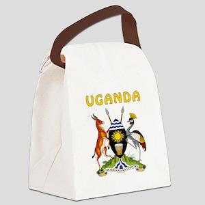 Uganda Coat of arms Canvas Lunch Bag