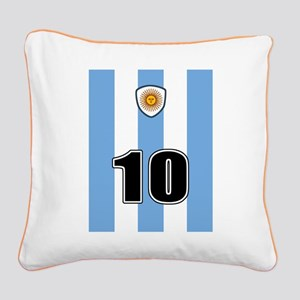 Argentina soccer Square Canvas Pillow