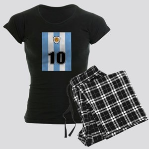Argentina soccer Women's Dark Pajamas
