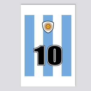 Argentina soccer Postcards (Package of 8)