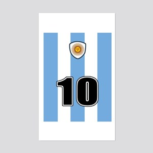 Argentina soccer Sticker (Rectangle)