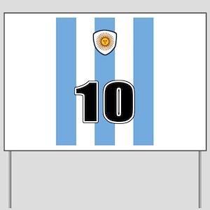 Argentina soccer Yard Sign