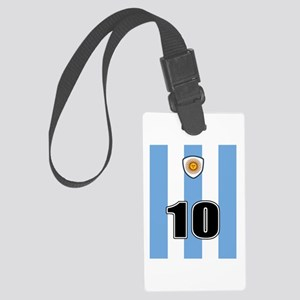 Argentina soccer Large Luggage Tag
