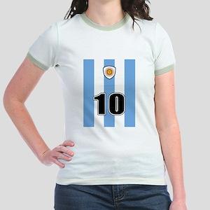 Argentina soccer Jr. Ringer T-Shirt